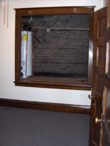 306 Shelden Living Room-West Wall-Atrium