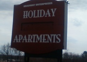 Holiday sign 1