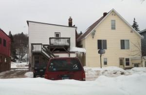 Quincy back lot- winter
