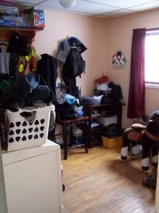 Laundry room/ coat room
