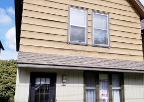 Houghton home for rent May 1.